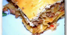 Λαζάνια στο φούρνο Lasagna, Ethnic Recipes, Food, Essen, Meals, Yemek, Lasagne, Eten