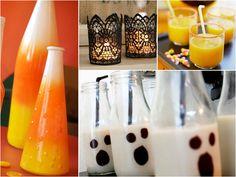 Glass Halloween Decor Ideas