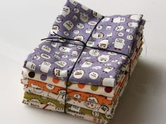 Sweetwater for Moda cotton print collection 'The Boo Crew!' fat quarter bundle | buy in-store and online at Ray Stitch