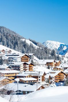 Lech am Arlberg one of the best ski resorts in Austria Ski Austria, Austria Winter, Austria Travel, Travel Europe, Ski Europe, Places To Travel, Places To Visit, Travel Destinations, Best Ski Resorts