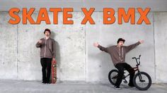 SKATEBOARDER LEARNS BMX TRICK!: My Youtube Channel:… #Skateswitzerland #LEARNS #skateboarder #TRICK