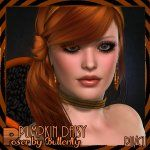 Poser by Butterfly: Pumpkin Daisy