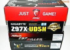 Intel Z97 Motherboard Round Up - GIGABYTE GA-Z97X-UD5H, MSI Z97 Gaming 7, ASUS Z97 Sabertooth MKI, ASRock Fatal1ty Z97 Killer - Futurelooks Computer Diy, Gaming, Products, Videogames, Game, Gadget