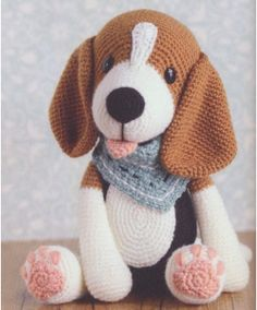 100 Amigurumi Crochet Dogs Patterns - Amigurumi World Amigurumi knitting toy dog models, all pretty nice toy dog models knitting recipes are waiting for you. Beagle - My WordPress Website In this article we will introduce you the best models of amigurumi Crochet Dog Patterns, Amigurumi Patterns, Amigurumi Doll, Knitting Patterns, Amigurumi Tutorial, Cute Crochet, Crochet Dolls, Crochet Baby, Crochet Dog Sweater