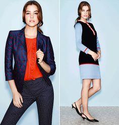 A kék és a piros most újra divatos együtt.