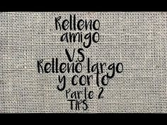 Brazilian Embroidery, Cross Stitch, Relleno, Logos, Youtube, Stitching, Embroidery Applique, Types Of Embroidery, Embroidered Towels