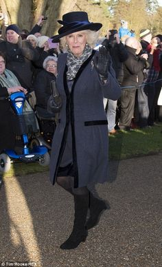 dailymail:  Duchess of Cornwall, December 25, 2013.