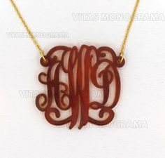 Monogram Necklace Hand Made Custom Tortoise Shell Initials Personalized A Party Jewelry Acrylic Bracelet Earrings Keychains