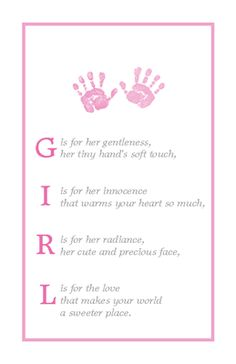 28 Best New Baby Girl Quotes Images Frases Thoughts Kids Room