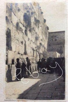 1917 Jerusalem Wailing Wall original photo  | eBay