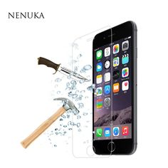 0.3mm Premium Tempered Glass Screen Protector For iPhone 4 4s 5 5S 5c SE 6 6s 7 Plus 7Plus Protective Film for Apple series+tool www.peoplebazar.net    #peoplebazar