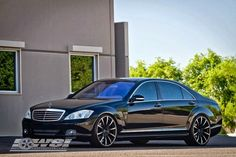 Mercedes-Benz W221 S 550 tuned by #Lorinser on Gianelle Cuba-10 Wheels #mbhess #mbcars #mbtuning