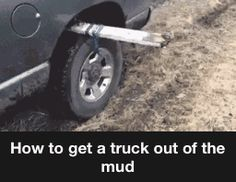 Handy idea for any stuck vehicle better than an idiot trying something and ripping off a bumper