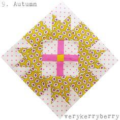 verykerryberry: Farmer's Wife 1930s QAL Blocks 9 & 10: Autumn and ...
