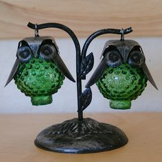 Vintage Owl Salt & Pepper Shakers | by Creature Comforts