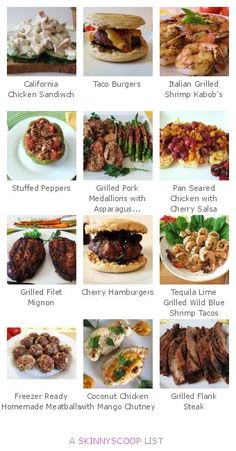 Healthy Meat & Seafood Dishes