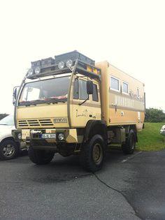 Steyr 4x4 Camper