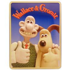 Wallace and Gromit Biscuit