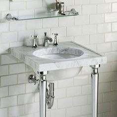 "Kohler Kathryn 24"" x 22"" Marble Console Tabletop with 8"" Widespread Faucet Holes and Cut for K-2205-G or K-2210-G Under-Mount Bathroom Sink"