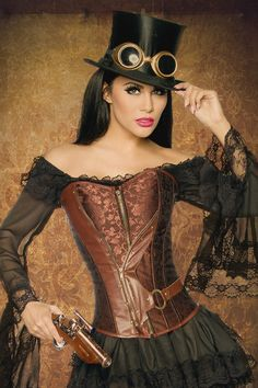 http://www.sassymania.nl/steampunk-kleding/steampunk-brokaat-korset #SteamPUNK ☮k☮ #coupon code nicesup123 gets 25% off at  www.Provestra.com www.Skinception.com and www.leadingedgehealth.com