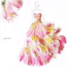 Grace Ciao et le stylisme en fleur