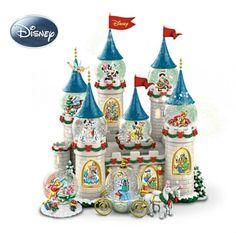 snow globes   Disney Christmas Snow Globes