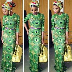 Ankara dress by DEAFRICANSHOP on Etsy