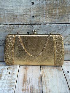 Gold Clutch - Evening Bags - Clutch Handbags - Evening Clutch