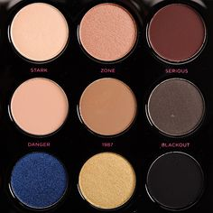 Some of the beautiful shades.