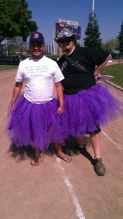 Gave me the idea to sell purple tutu's at relay for on-site fundraiser