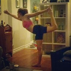 My first weekly pose, Dandayamana Dhanurasana! » Yoga Pose Weekly