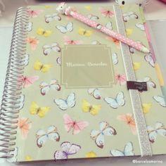 Anote todas suas atividades e não perca nenhum compromisso! www.paperview.com.br #meudailyplanner #dailyplanner #plannergeek #butterfly
