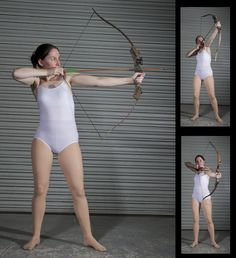 Female Archer - Pose Reference by *SenshiStock on deviantART