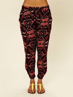 Free People, Ikat Harem Pant