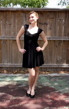 Vintage Little Black Dress size XS