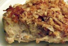 Coconut-Almond Crusted Chicken