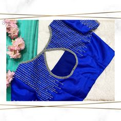 For bridal work appointments please call @ 9942769656 . Simple Blouse Designs, Blouse Back Neck Designs, Sari Blouse Designs, Bridal Blouse Designs, Blouse Patterns, Sexy Blouse, Work Blouse, Saree Blouse, Maggam Work Designs
