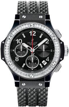 Hublot Big Bang Black Magic Diamonds 41mm $42,000