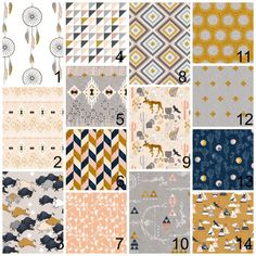 Boho baby bedding - pink grey gold - chevron, navy, mustard, dream catcher…