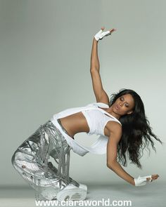Ciara. She is one of the greatest urban dancers in history