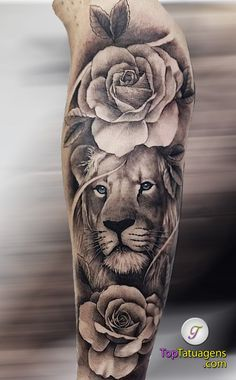 70 Lion Tattoos Women and Men Tattoo Mama, Mommy Tattoos, Dope Tattoos, Tatoos, Lion Forearm Tattoos, Lion Head Tattoos, Body Art Tattoos, Lotus Tattoo Men, Lion And Rose Tattoo