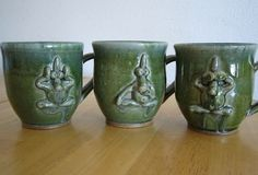 See no evil, hear no evil, speak no evil -  Mugs