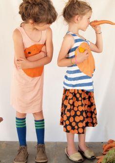Sleeveless Dress Orange - Bobochoses