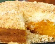 Tarta dulce de calabaza