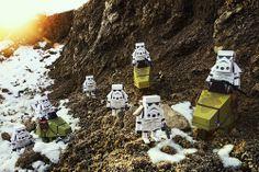 STAR WARS Papercraft Toys