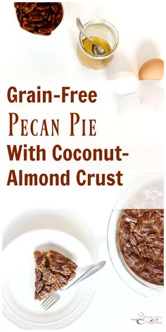 This GAPS and SCD-legal Recipe is a delicious update on the classic holiday pie. Enjoy a crust made with coconut and almond flours, and honey-sweetened custard. Gaps Diet Recipes, Primal Recipes, Gf Recipes, Sweets Recipes, Dairy Free Recipes, Real Food Recipes, Gluten Free Thanksgiving, Thanksgiving Recipes, Paleo Treats