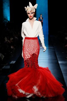 Jean Paul Gaultier Spring/Summer 2014 (I know....it's a repeat from earlier on my board....but I love it!!)