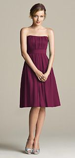 After Six Style 6575 Bridesmaid Dress in Ruby