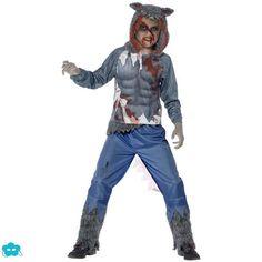 .Disfraz de hombre lobo para niño