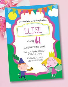 Christening Invitations, Birthday Invitations, Ben Y Holly, Gold Watercolor, Pink And Gold, Rsvp, Colours, Prints, Artwork
